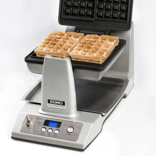 Automatisch wafelijzer Domo voor Belgische wafels - wafelijzerwinkel.com