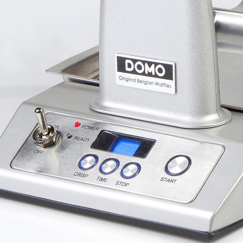 Detail Wafelijzer Domo - volledig automatisch - wafelijzerwinkel.com