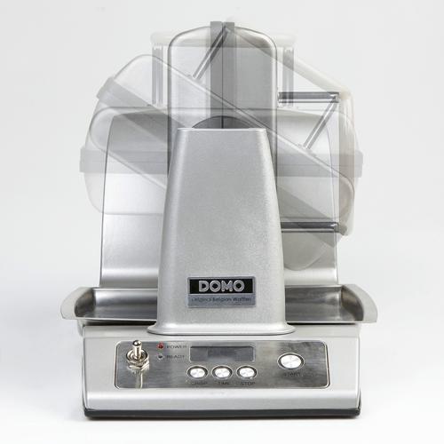 Wafelijzer draait terwijl je bakt - Domo Do9043w - pro wafelijzer