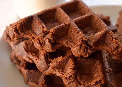 Chocolade wafels / brownies