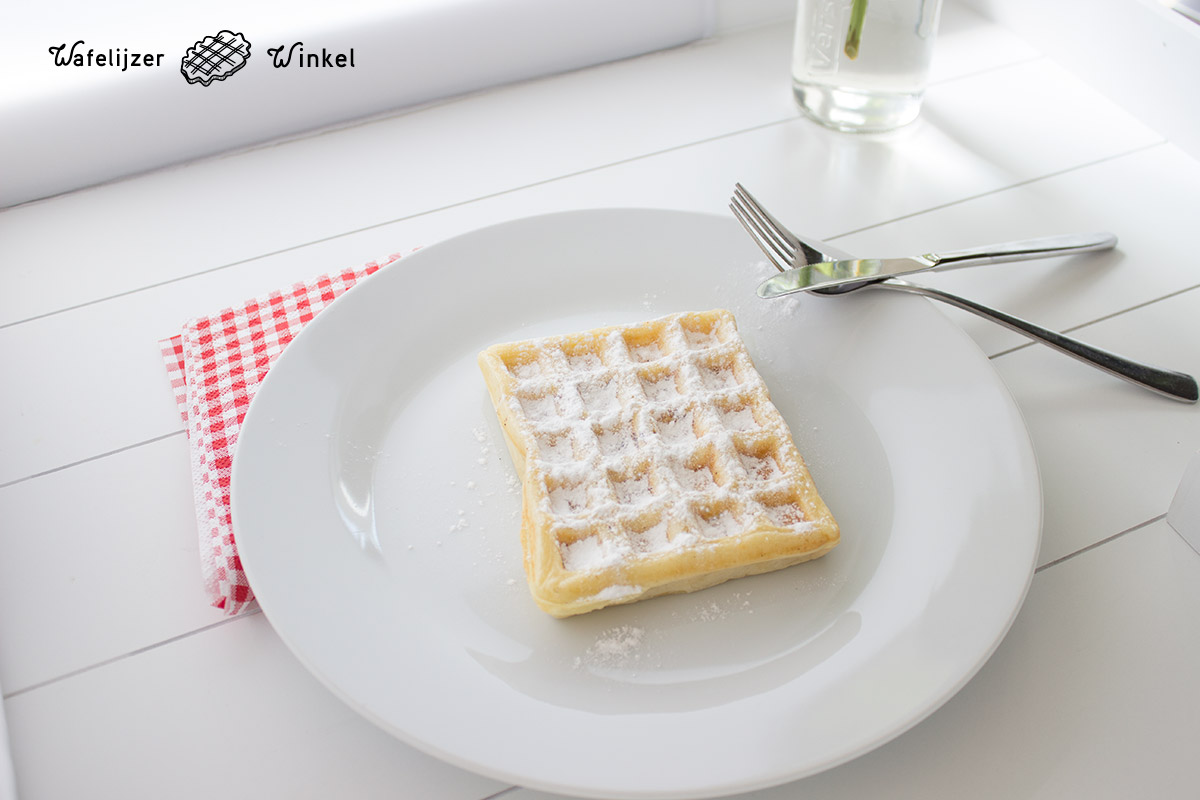 Recept brusselse wafels Piet Huysentruyt