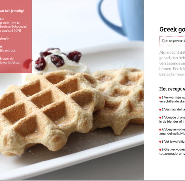 greek goodness wafels uit receptenboekje