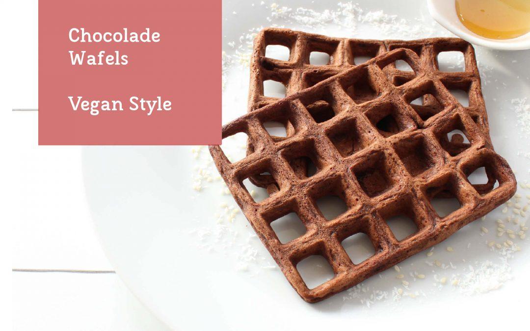 Chocolade wafels maken